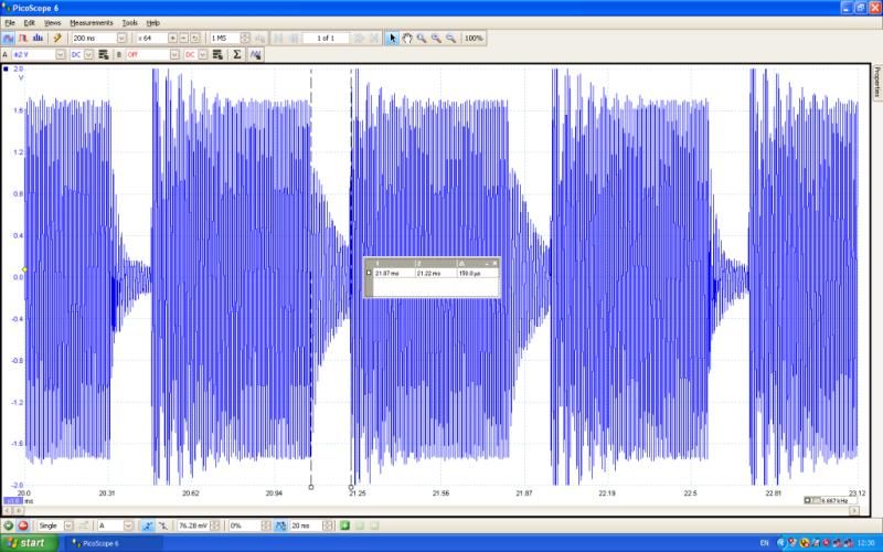 LF field modulation